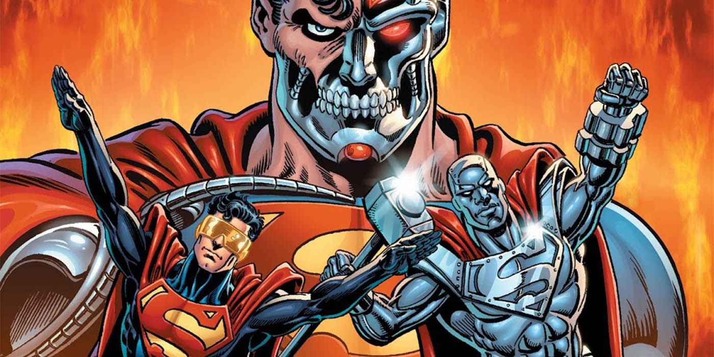 How the Reign of the Supermen Movie Differs From the Comics