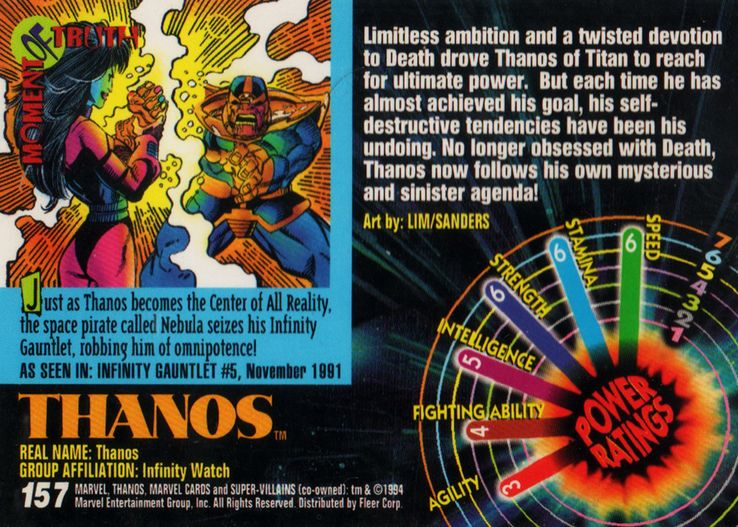 The Strongest Marvel Characters (According To '90s Trading Cards)