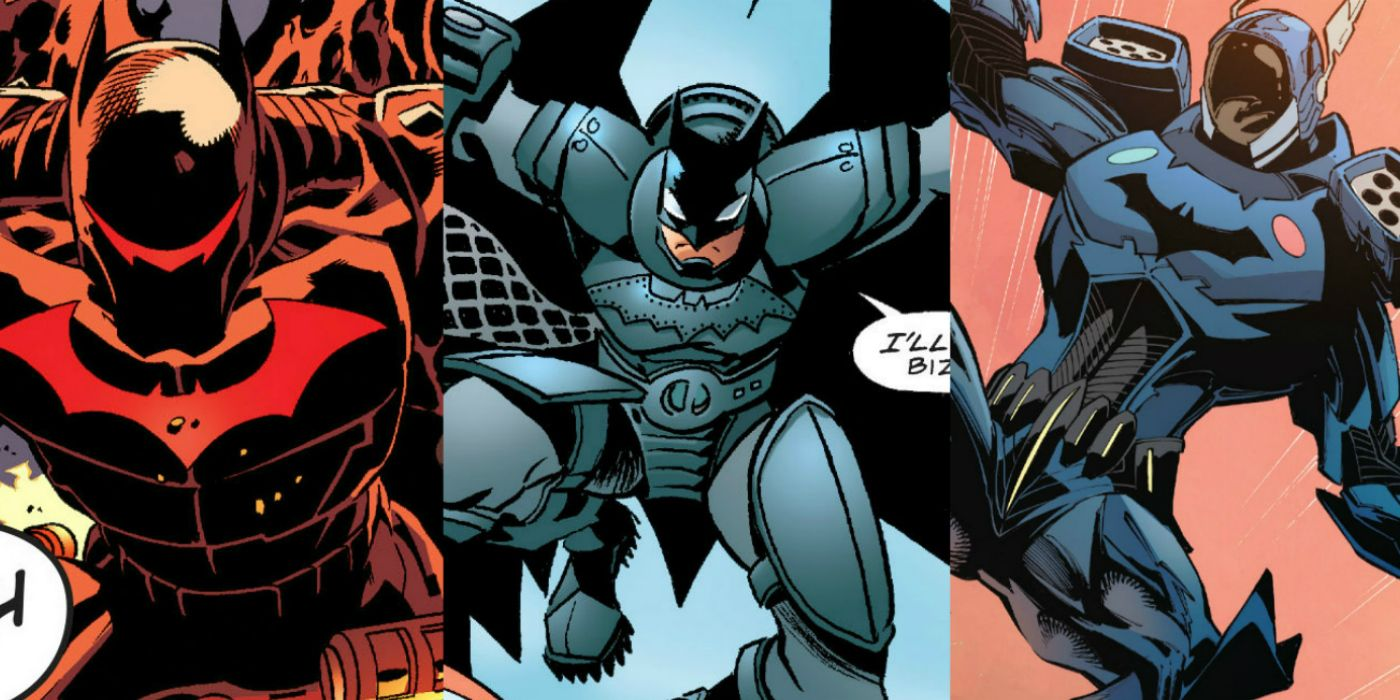 Batman's 15 Most Powerful Suits | CBR