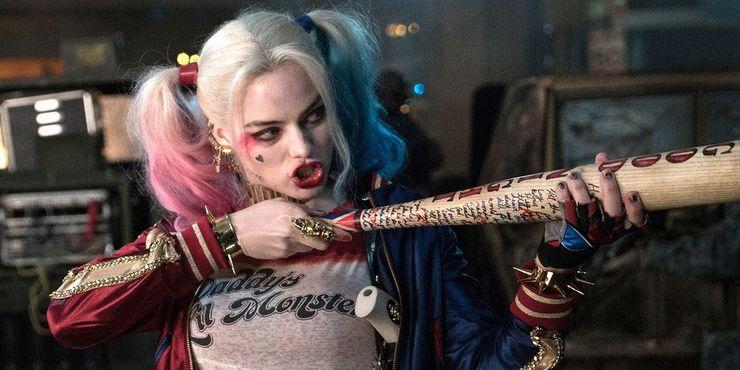 Margot Robbie as Harley Quinn in DCEU