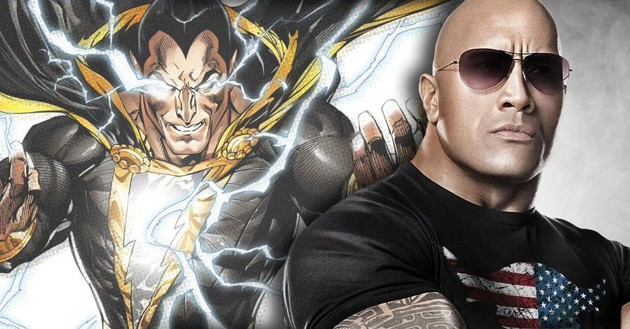 The Rock Teases 'Cool & Strategic' Meeting with DC Over Shazam Movie