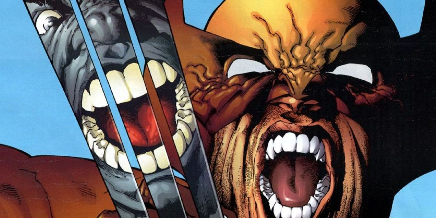 wolverine vs hulk their most brutal battles cbr