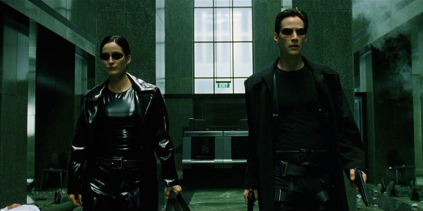 and trinity neo Matrix