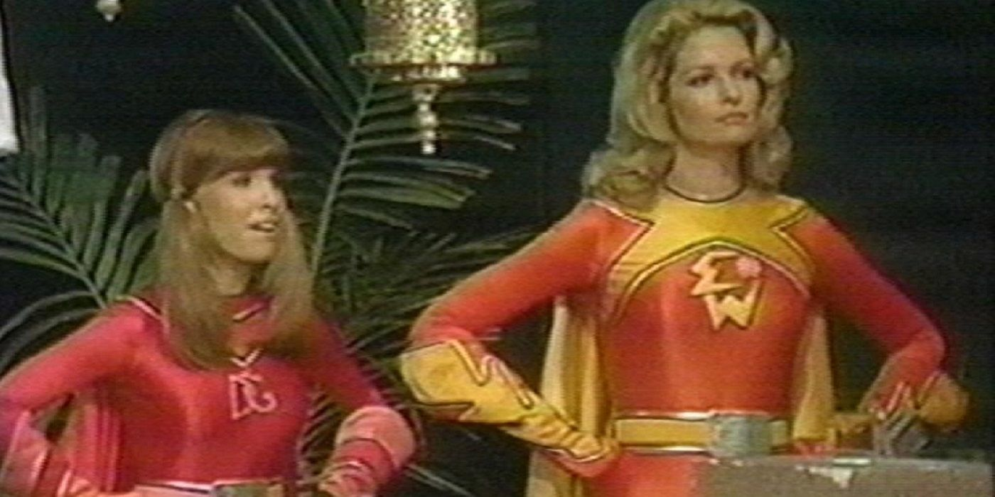 Alex Toth Electra Woman and Dyna Girl Concept Art Surfaces