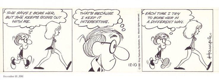 Image result for inside woody allen comic strip