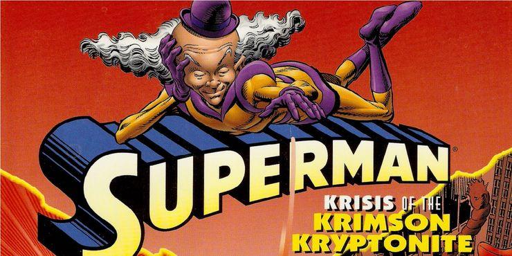 krisis of the krimson kryptonite - Las 15 bromas más locas que Mr. Mxyzptlk le ha hecho a Superman