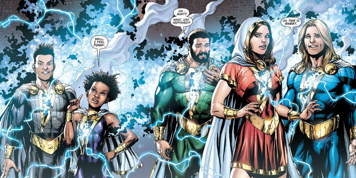 Shazam Family Reportedly Cast For Upcoming DCEU Film
