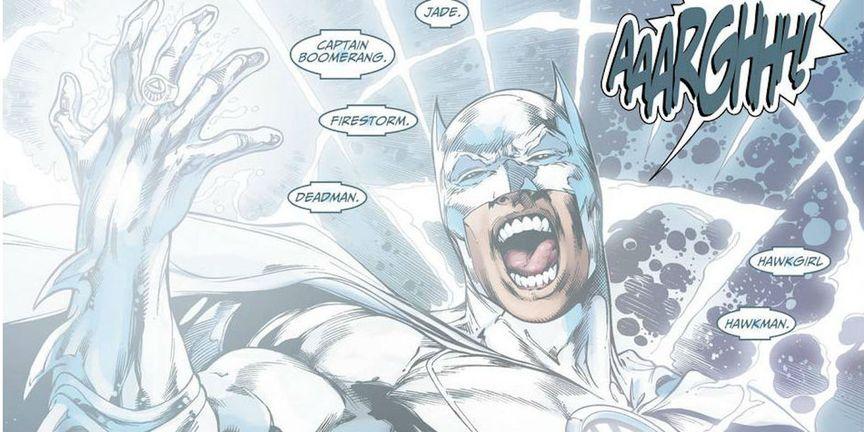 Batman being White Lantern