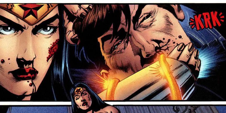 Wonder Woman Killing Maxwell: Justice League Fired A Superhero