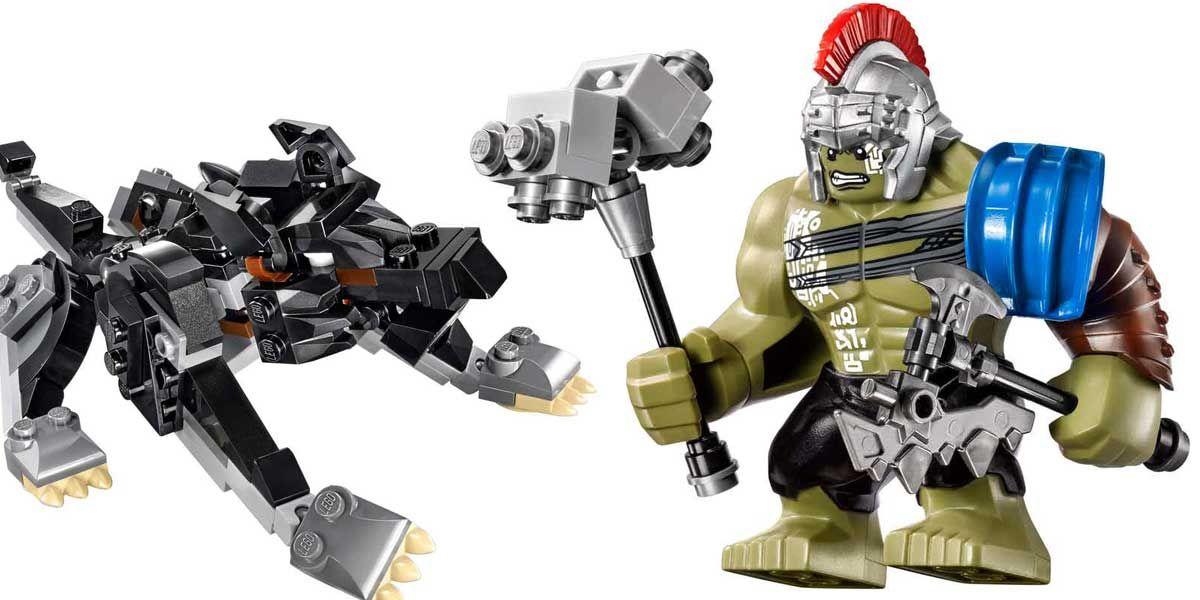 Gladiator Hulk Smashes in Thor: Ragnarok LEGO Sets