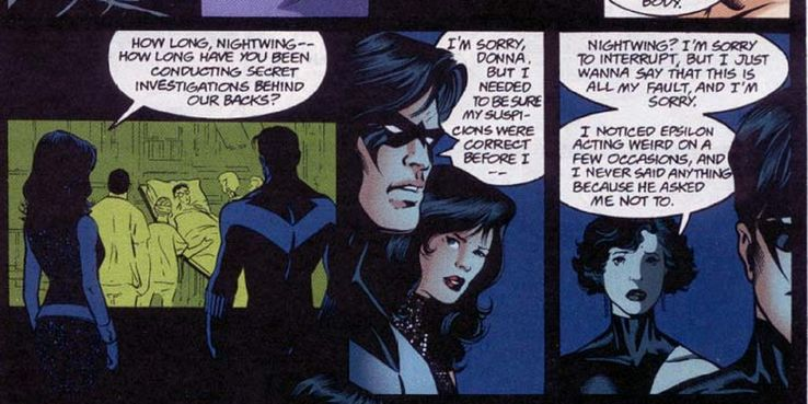 Nightwing X Reader Hate