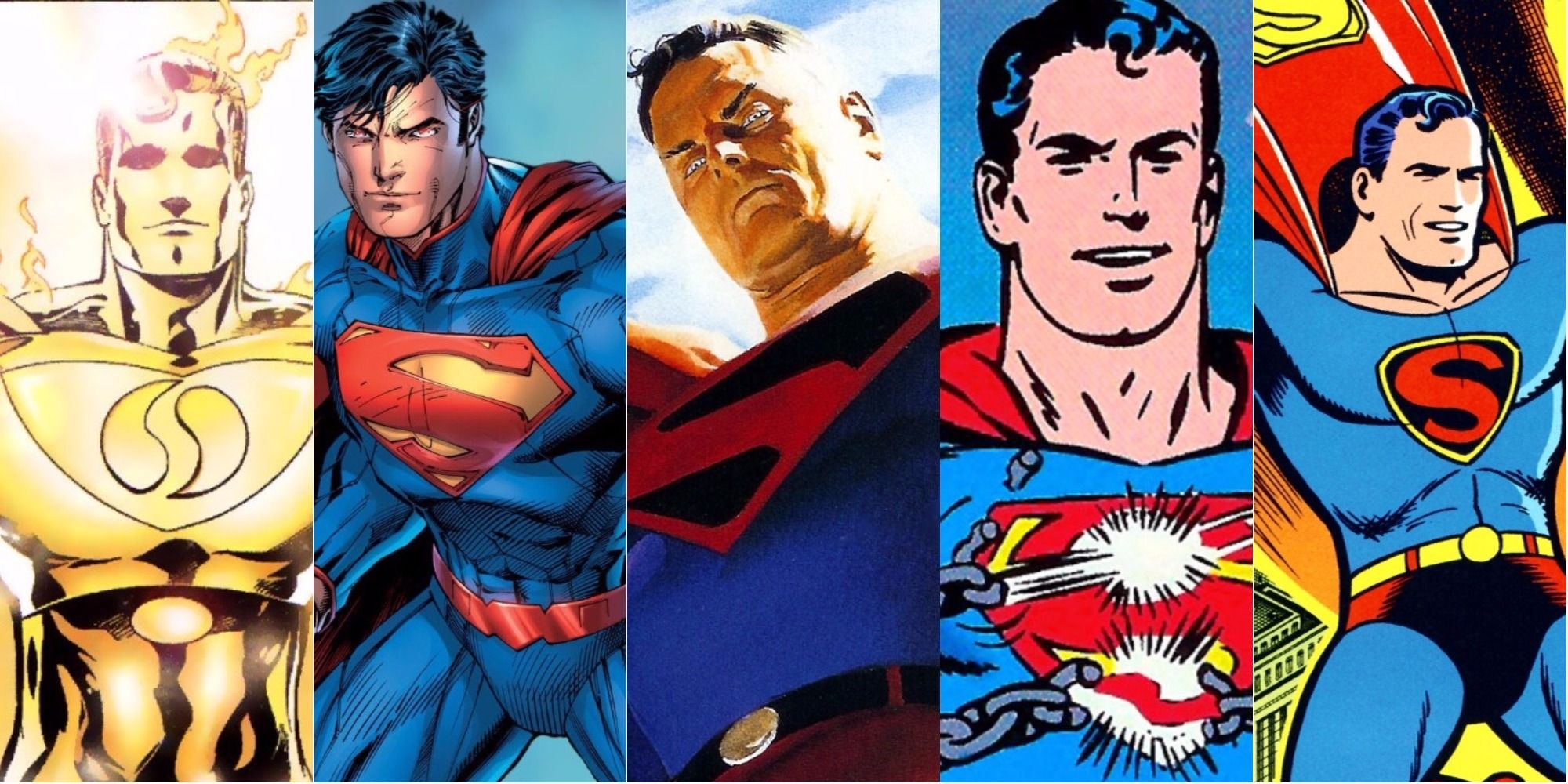 the 15 strongest versions of superman ranked cbr