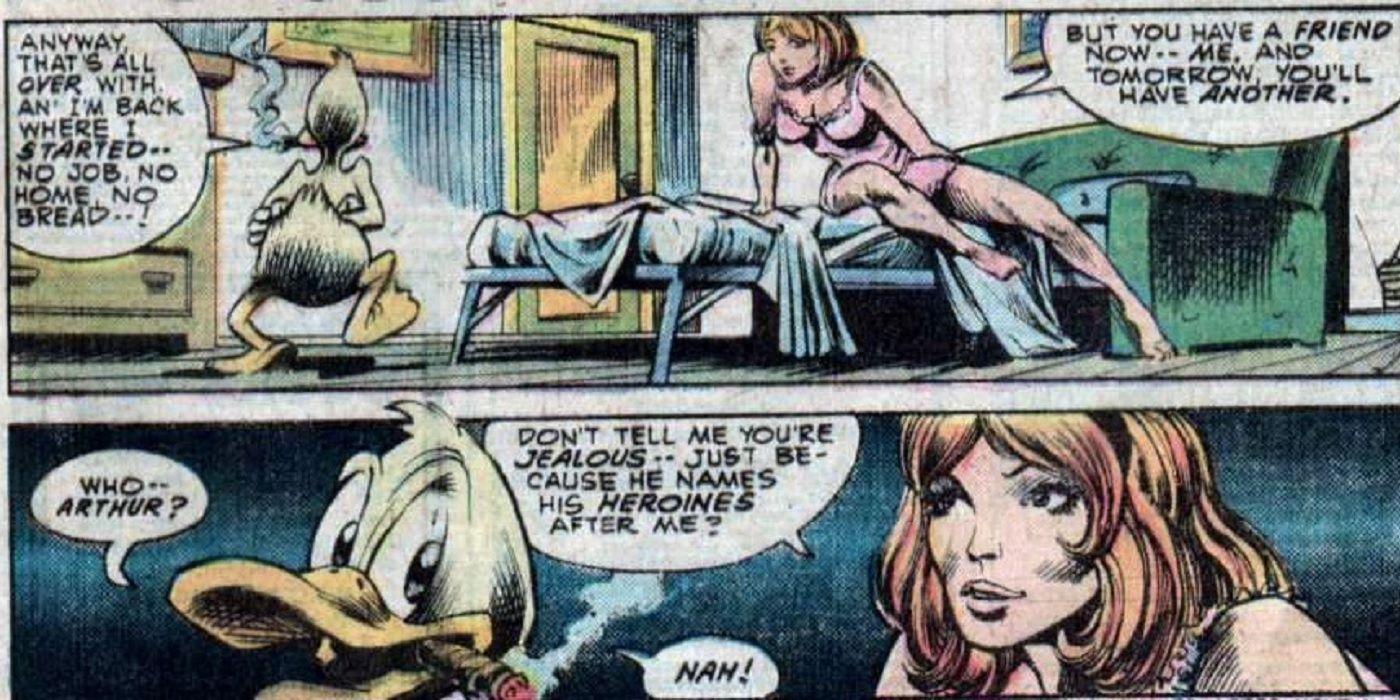 Animal Comic Sex censored sex life of howard the duck | cbr