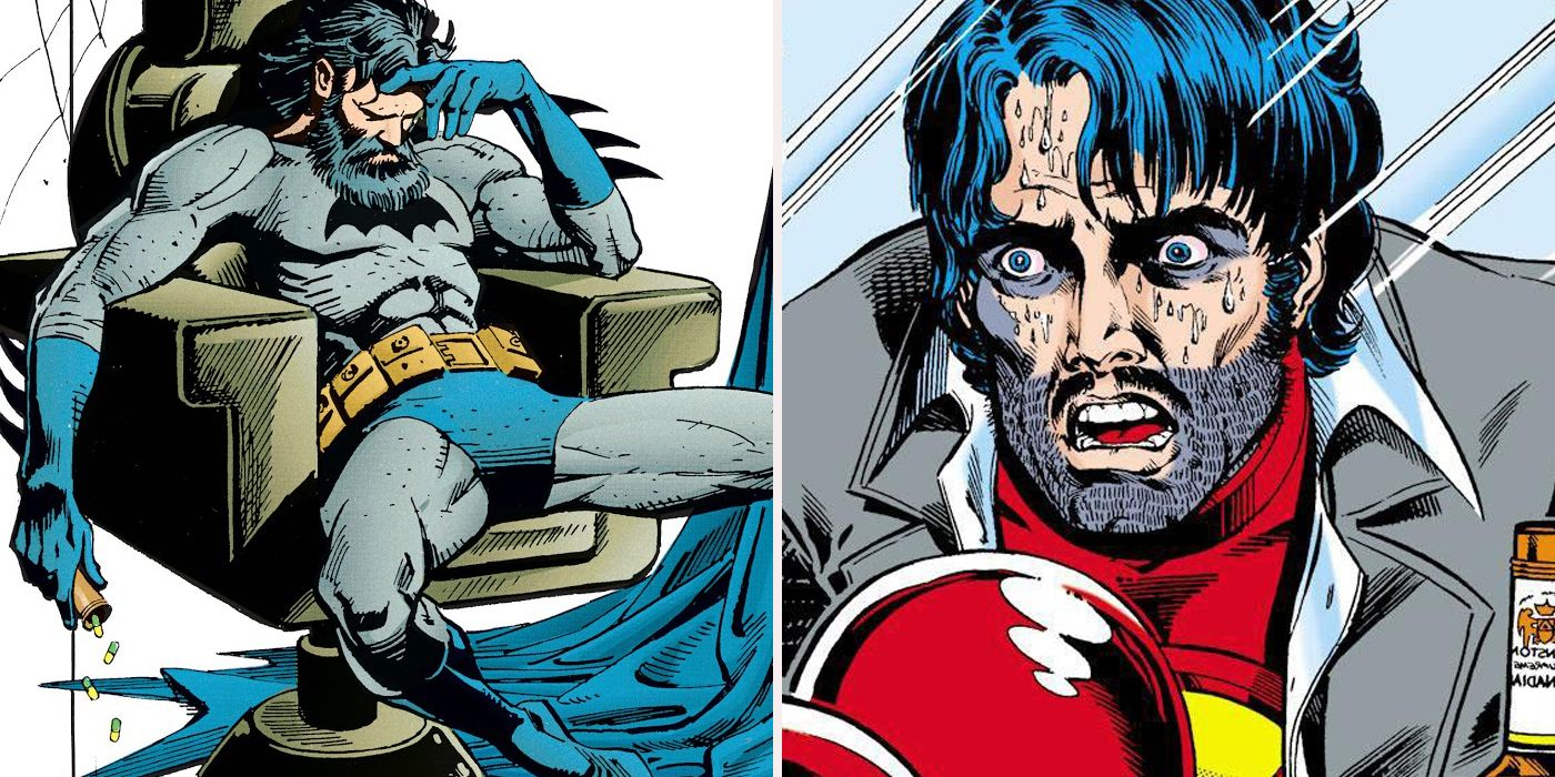 16 Superheroes Hooked On Drugs Cbr