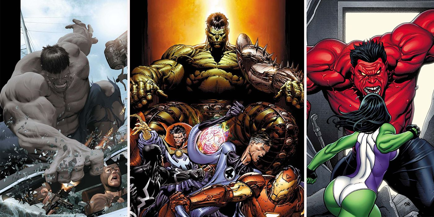 15 Hulks, Ranked from Puniest To Strongest | CBR
