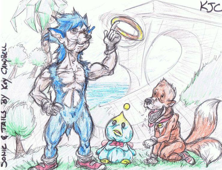 Weirdest Pieces Of Sonic The Hedgehog Fan Art Cbr