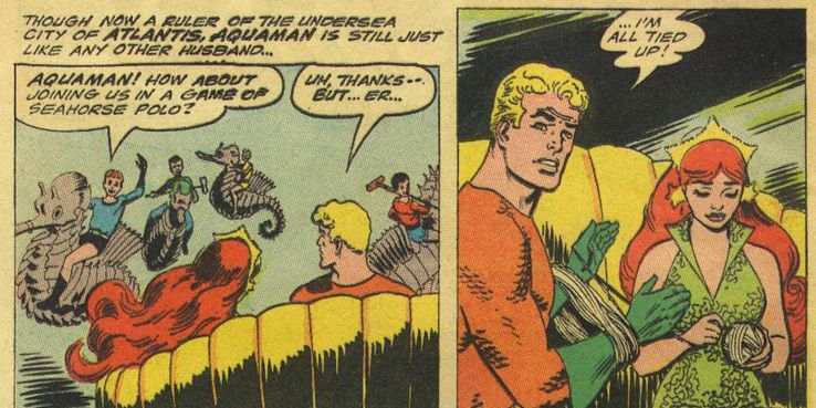 9 Times Aquaman And Mera Got It On (And 6 Times They Cheated