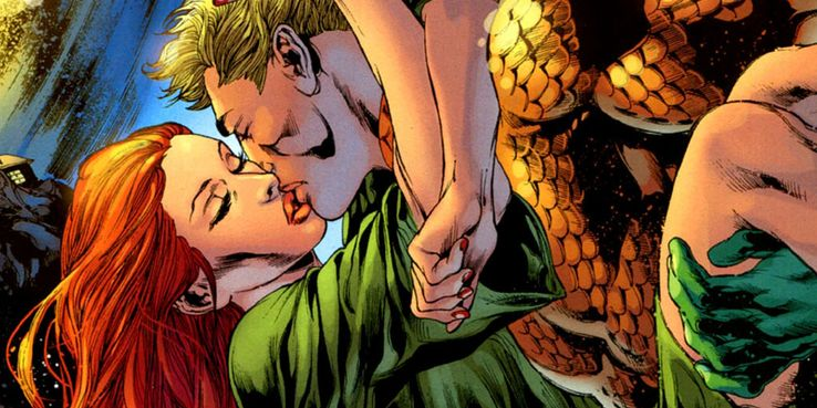 9 Times Aquaman And Mera Got It On (And 6 Times They Cheated On Each