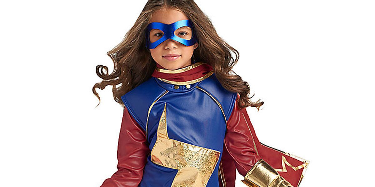 Disney Store Is Selling An Official Ms Marvel Costume Cbr Deluxe captain marvel hero suit child costume even with my back against the wall—i don't give up! carol denvers aka captain america will never stop for accessories shown in the photo, please check our store for availability, as we stock a massive range of accessories to complete your look. official ms marvel costume