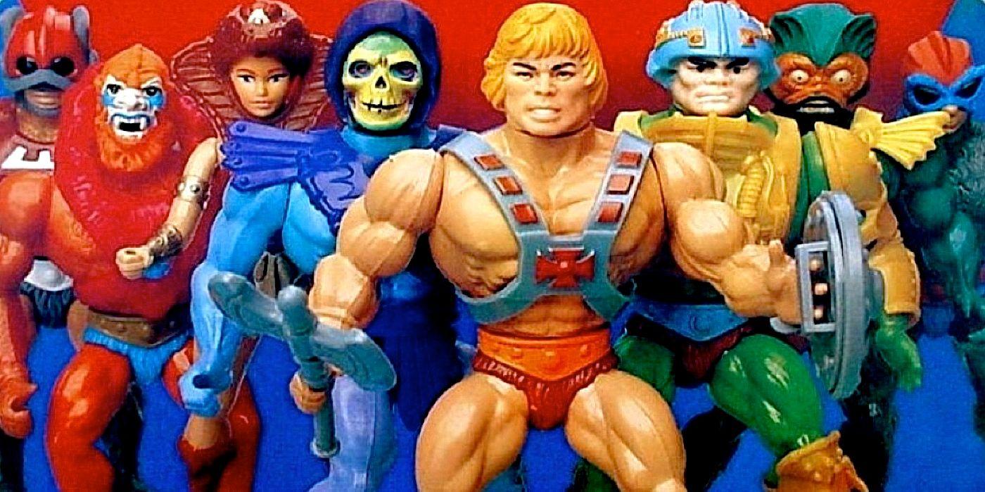 He-Man vintage MOTU weapon Man-E-Faces authentic original gun Mattel