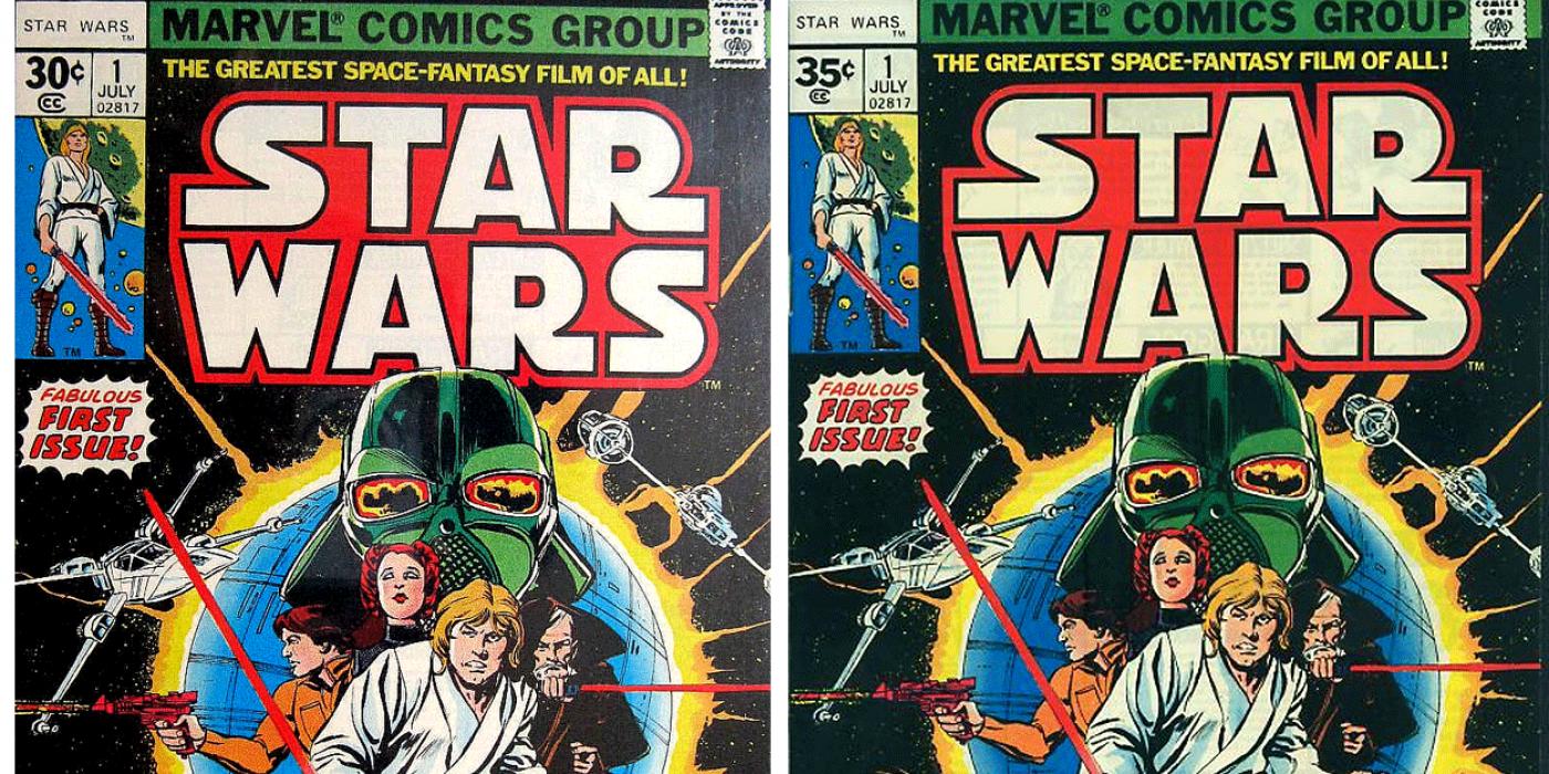 Buku Komik Star Wars pertama