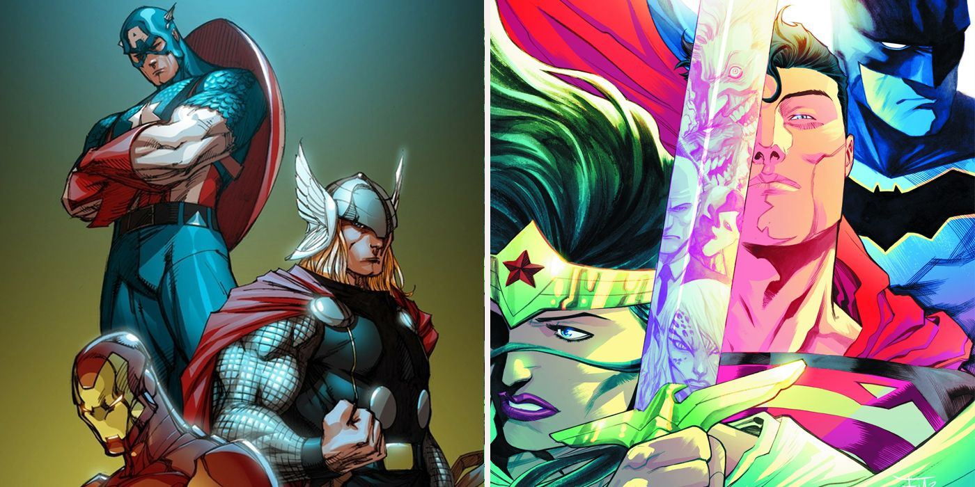 Who's More Attractive: Avengers vs. Justice League