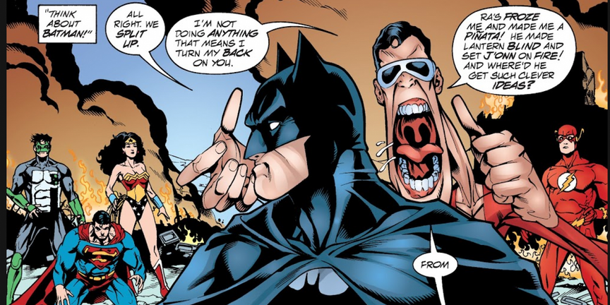 Batman Getting Fired From Justice League