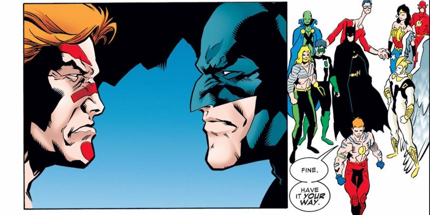 Gardener leaving Justice League