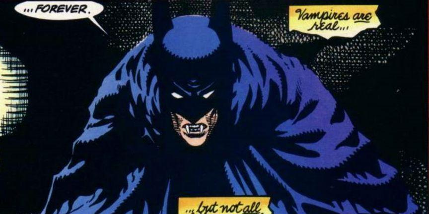Batman as Dracula
