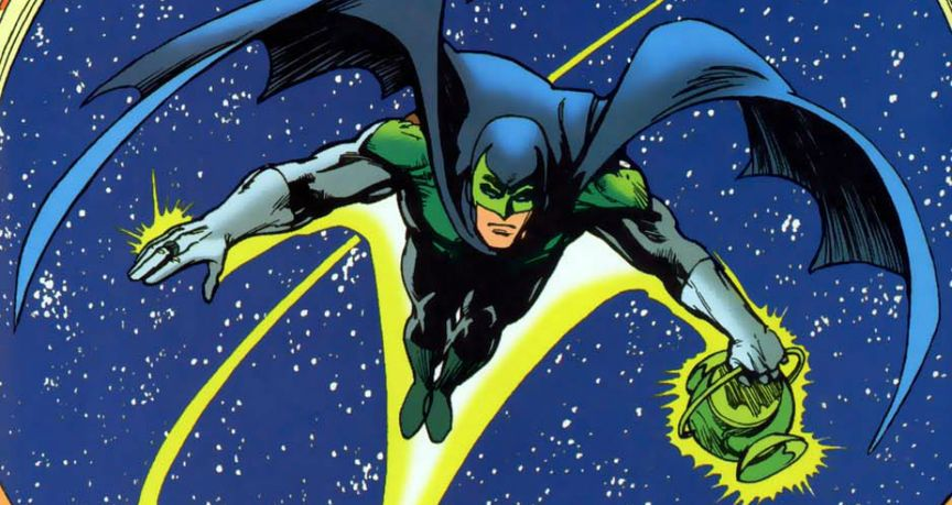 Batman as Green Lantern