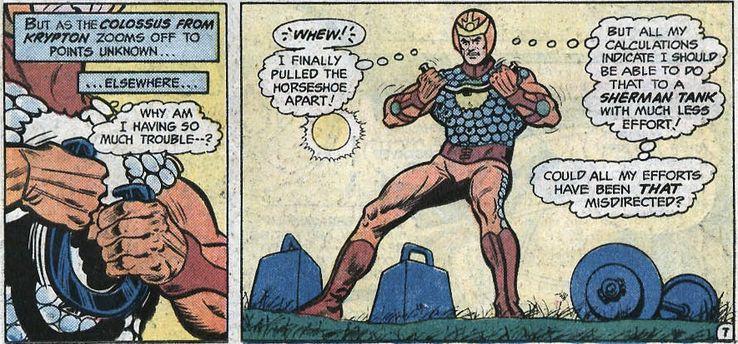colossus from krypton - Cuando Superman consiguió sus apodos más famosos