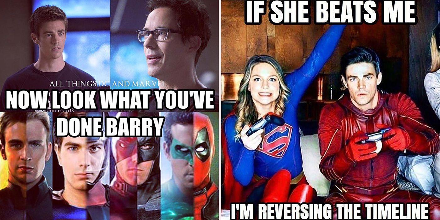 Flashpoint Arrowverse Memes Cbr