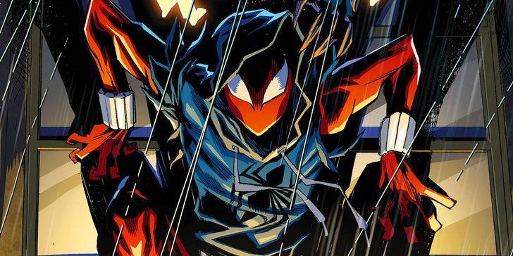 Spider Man Playstation 4 Game Trailer Reveals Scarlet Spider Suit