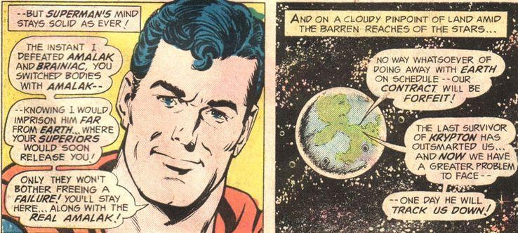 survivor of krypton - Cuando Superman consiguió sus apodos más famosos