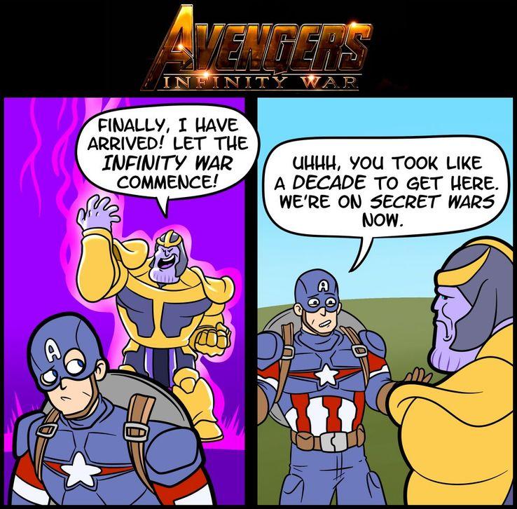 Hilarious Infinity Gauntlet Memes | CBR