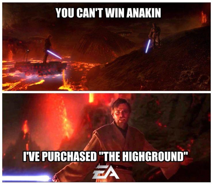 Star Wars Battlefront Memes Cbr