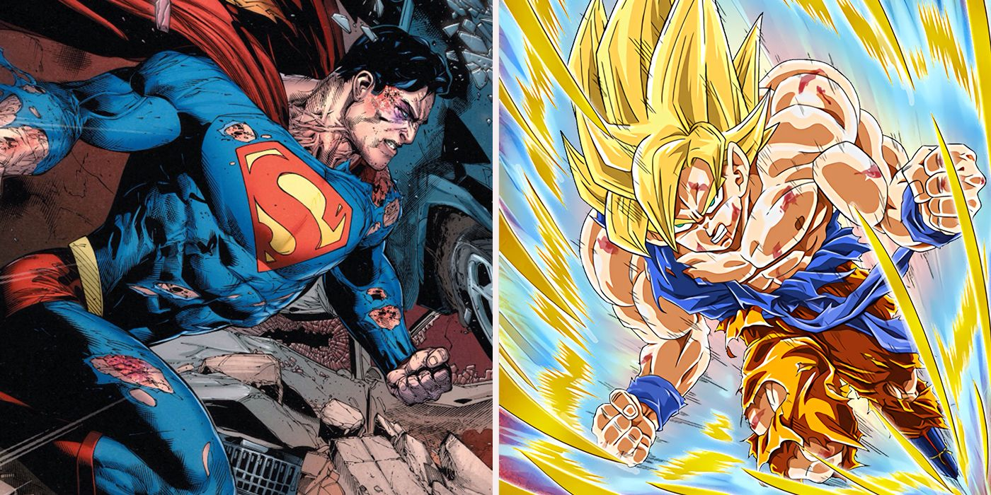 Things Goku Can Do That Superman Cant Cbr