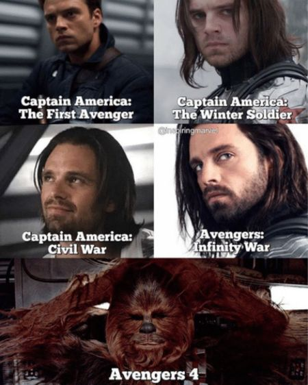Bucky's Hair growth
