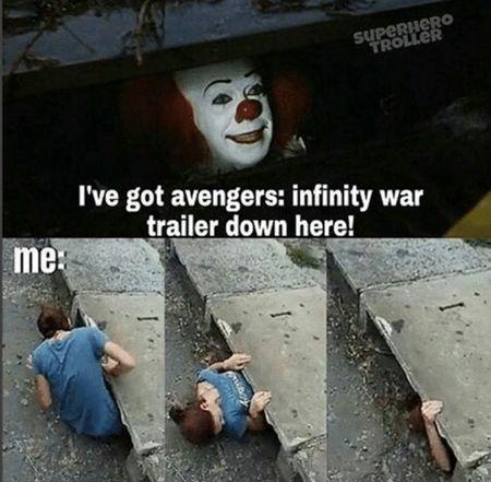 Funny meme for Avengers fans