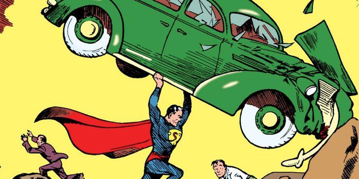 action comics 1 cover display - El escudo de Superman: Cómo el símbolo del Hombre de Acero se ha convertido en un icono de la cultura pop