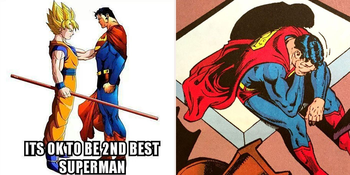 Goku Vs Superman Memes Cbr