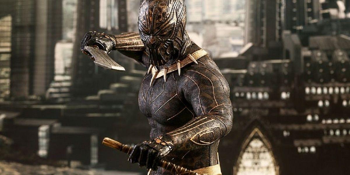 Hot Toys Reveals Erik Killmonger Black Panther Collectible Figure