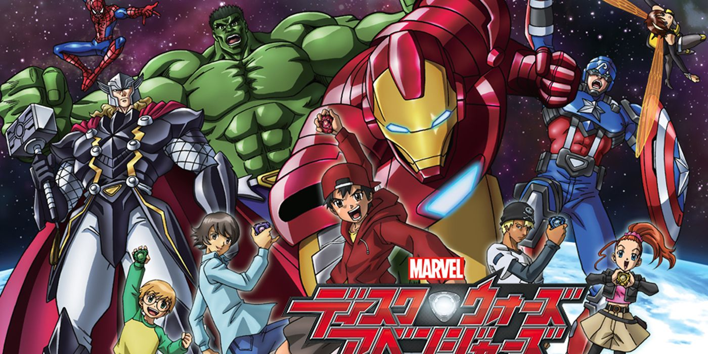 Marvel's First Avengers Anime Had a Needlessly Bizarre Premise