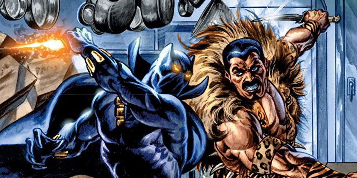 Resultado de imagem para black panther and kraven