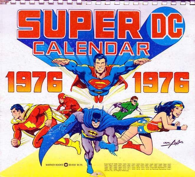 super calendar - Hoy es el cumpleaños de Superman