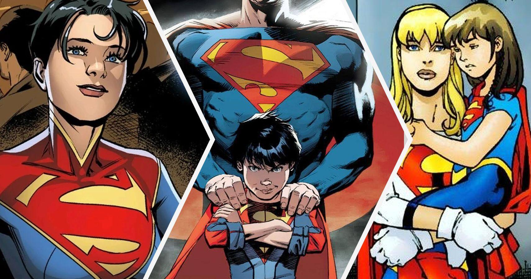 Stronger And Weaker Kids Of Superman | CBR