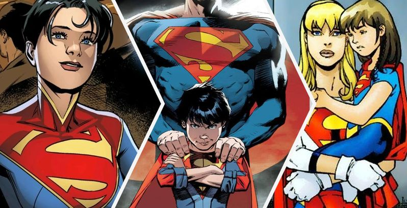Stronger And Weaker Kids Of Superman | CBR