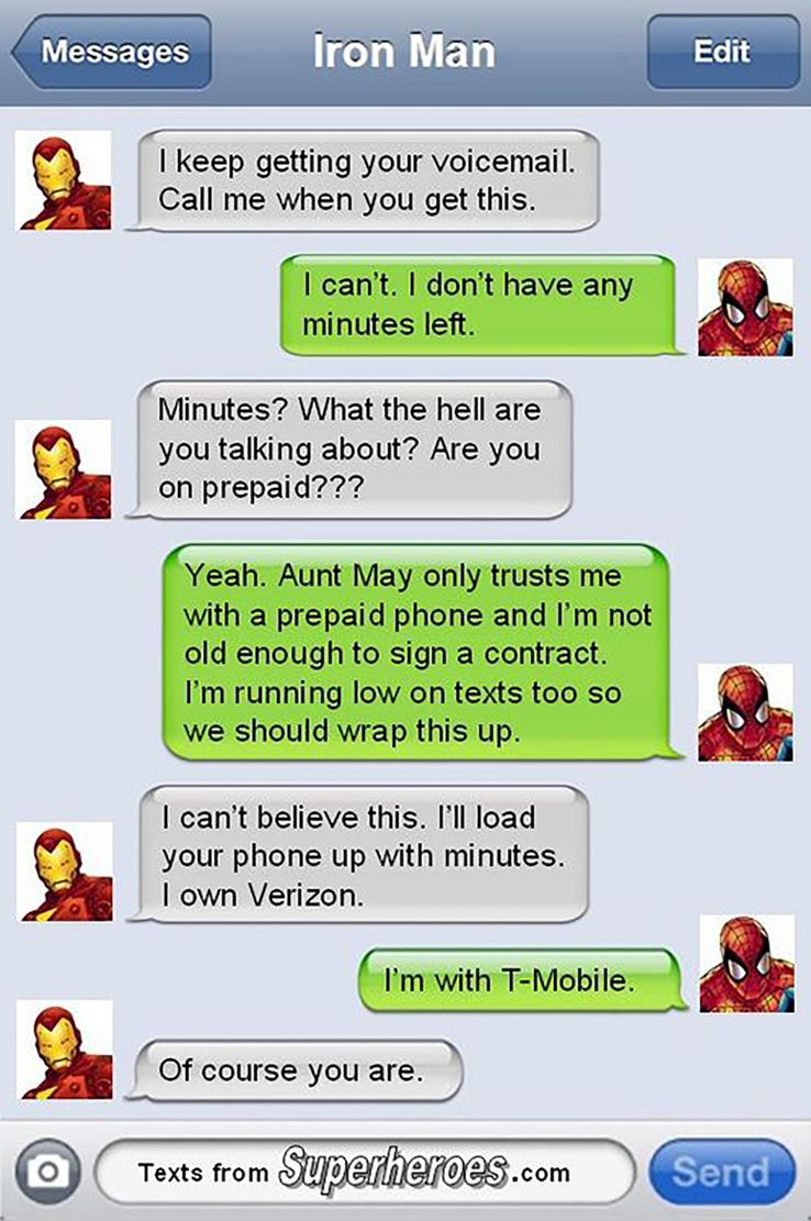 17 Totally Dank Iron Man And Spider-Man Memes   CBR