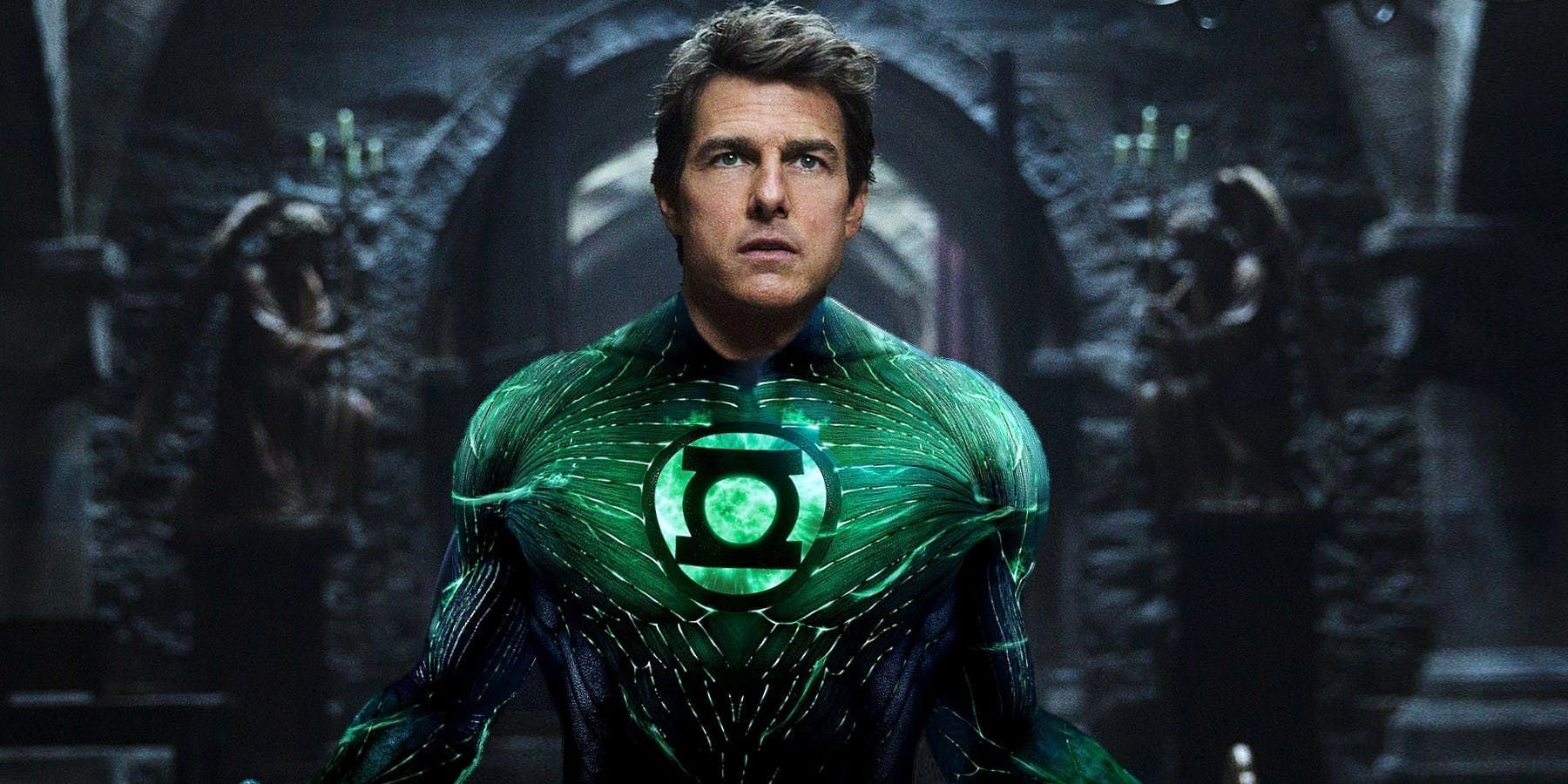 rumors about tom cruise playing green lantern explained cbr. Black Bedroom Furniture Sets. Home Design Ideas