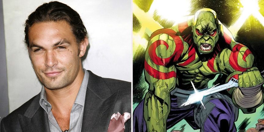 Jason Momoa about to play the Drax in MCU